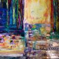 Peinture Contemporaine contrastisme Pierre-Romain LANVIN